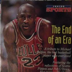 Coleccionismo deportivo: MICHAEL JORDAN - REVISTA ESPECIAL ''THE END OF AN ERA'' (1993) - NBA. Lote 54358242