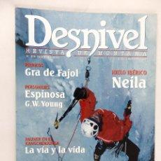 Coleccionismo deportivo: DESNIVEL. REVISTA DE MONTAÑA Nª 205 DICIEMBRE 2003. Lote 54426878