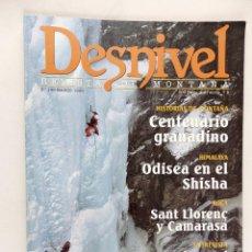 Coleccionismo deportivo: DESNIVEL. REVISTA DE MONTAÑA Nª 149 MARZO 1999. Lote 54426946