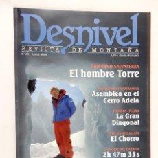 Coleccionismo deportivo: DESNIVEL. REVISTA DE MONTAÑA Nª 261 ABRIL 2008. Lote 54427049