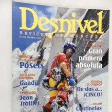 Coleccionismo deportivo: DESNIVEL. REVISTA DE MONTAÑA Nª 208 FEBRERO 2004. Lote 54427131