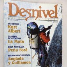 Coleccionismo deportivo: DESNIVEL. REVISTA DE MONTAÑA Nª 174 JUNIO 2001. Lote 54427497
