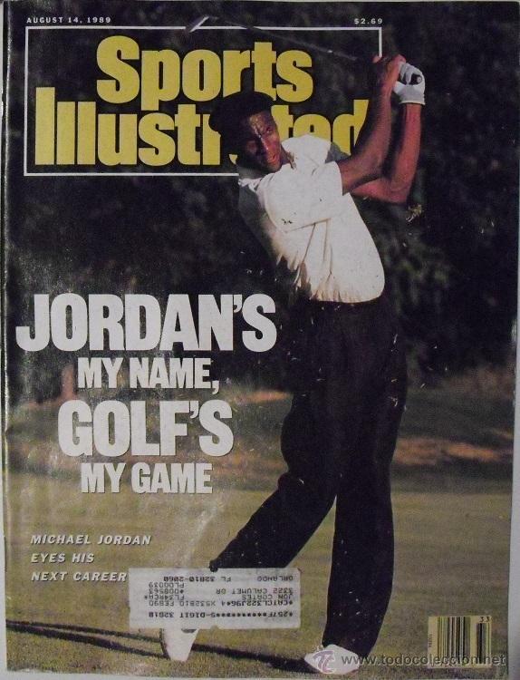 MICHAEL JORDAN - REVISTA ''SPORTS ILLUSTRATED'' (AGOSTO 1989) - NBA (Coleccionismo Deportivo - Revistas y Periódicos - otros Deportes)