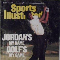 Coleccionismo deportivo: MICHAEL JORDAN - REVISTA ''SPORTS ILLUSTRATED'' (AGOSTO 1989) - NBA. Lote 54437744