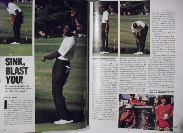 Coleccionismo deportivo: Michael Jordan - Revista Sports Illustrated (agosto 1989) - NBA - Foto 2 - 54437744