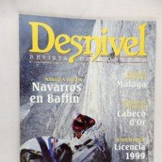 Coleccionismo deportivo: REVISTA DESNIVEL Nº 148 FEBRERO 1999. Lote 54461676