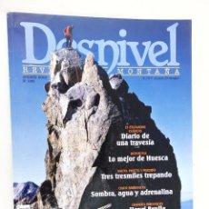 Coleccionismo deportivo: REVISTA DESNIVEL Nº 265 AGOSTO 2008 ESPECIAL PIRINEOS. Lote 55122542