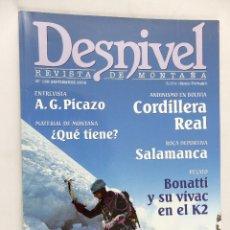 Coleccionismo deportivo: REVISTA DESNIVEL Nº 189 SEPTIEMBRE 2002. Lote 54464698