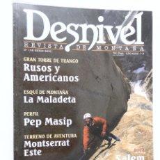 Coleccionismo deportivo: REVISTA DESNIVEL Nº 158 ENERO 2000. Lote 54485076