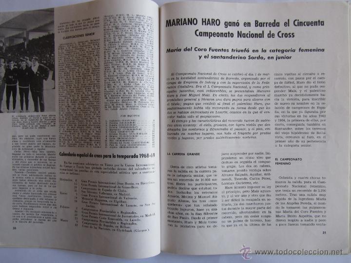 Coleccionismo deportivo: Atletismo Español Numero 155 (Marzo 1968) Inluye separata 44 pags con listado de los mejores atletas - Foto 3 - 54486461