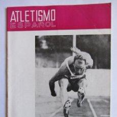 Coleccionismo deportivo: ATLETISMO ESPAÑOL NUMEROS 148-149 (1967) . Lote 54486525