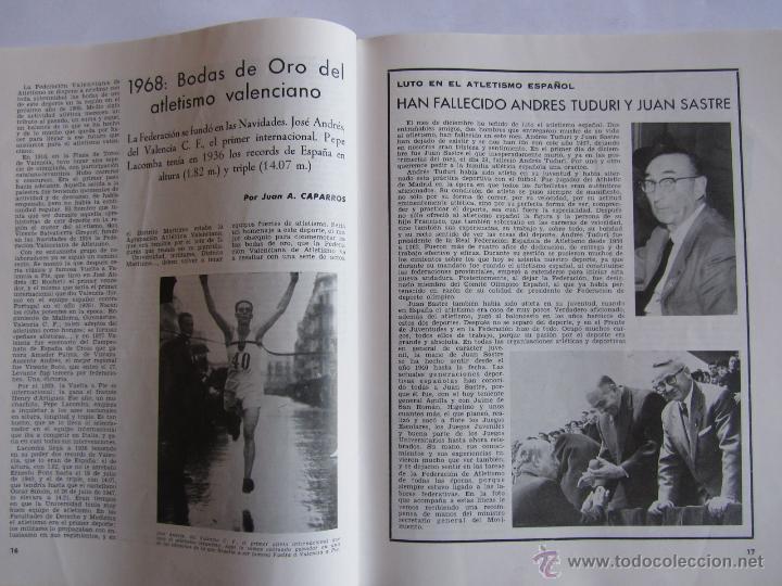 Coleccionismo deportivo: Atletismo Español Numero 152 (Diciembre 1967) - Foto 2 - 54486567