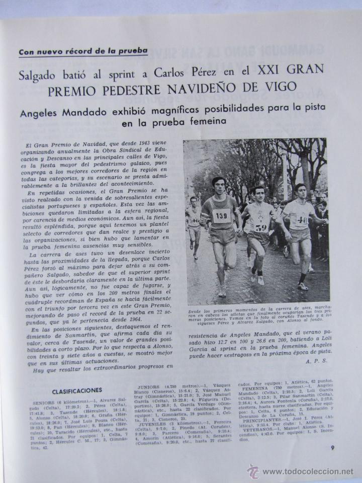 Coleccionismo deportivo: Atletismo Español Numero 152 (Diciembre 1967) - Foto 3 - 54486567