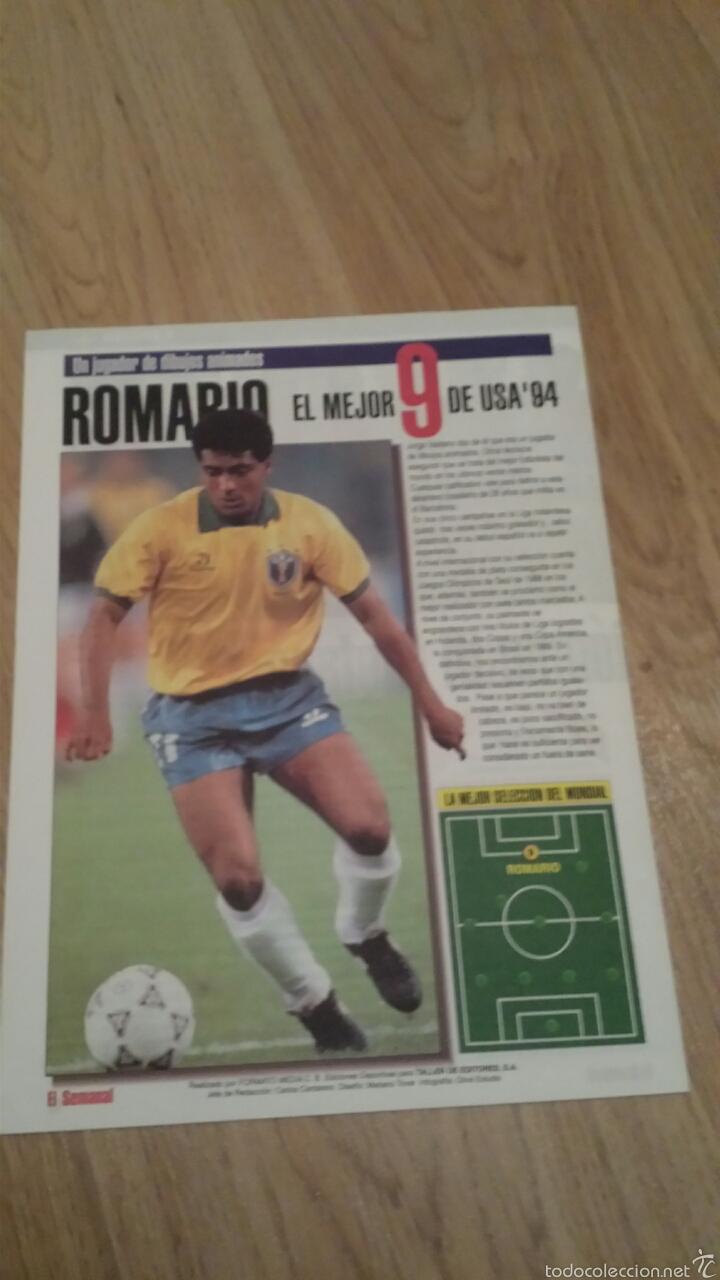 Coleccionismo deportivo: COLECCIONABLE REVISTAS MUNDIAL USA 94 1994 COMPLETO - Foto 4 - 28623001