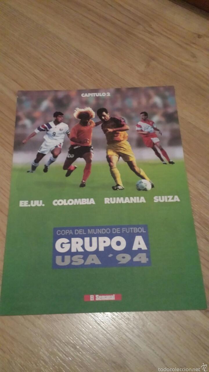 Coleccionismo deportivo: COLECCIONABLE REVISTAS MUNDIAL USA 94 1994 COMPLETO - Foto 5 - 28623001