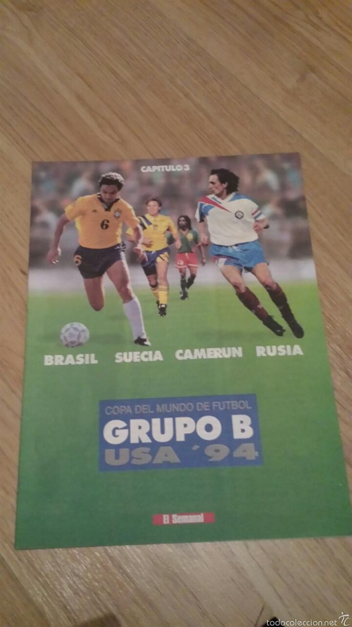 Coleccionismo deportivo: COLECCIONABLE REVISTAS MUNDIAL USA 94 1994 COMPLETO - Foto 7 - 28623001