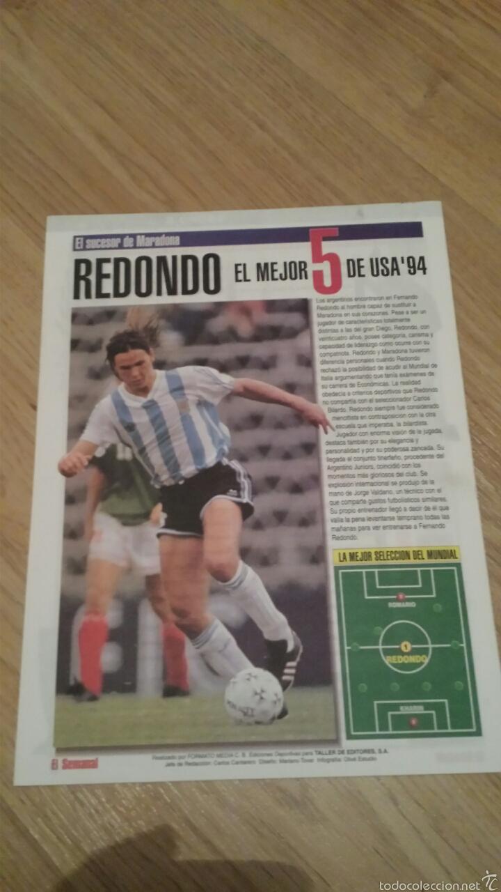 Coleccionismo deportivo: COLECCIONABLE REVISTAS MUNDIAL USA 94 1994 COMPLETO - Foto 8 - 28623001