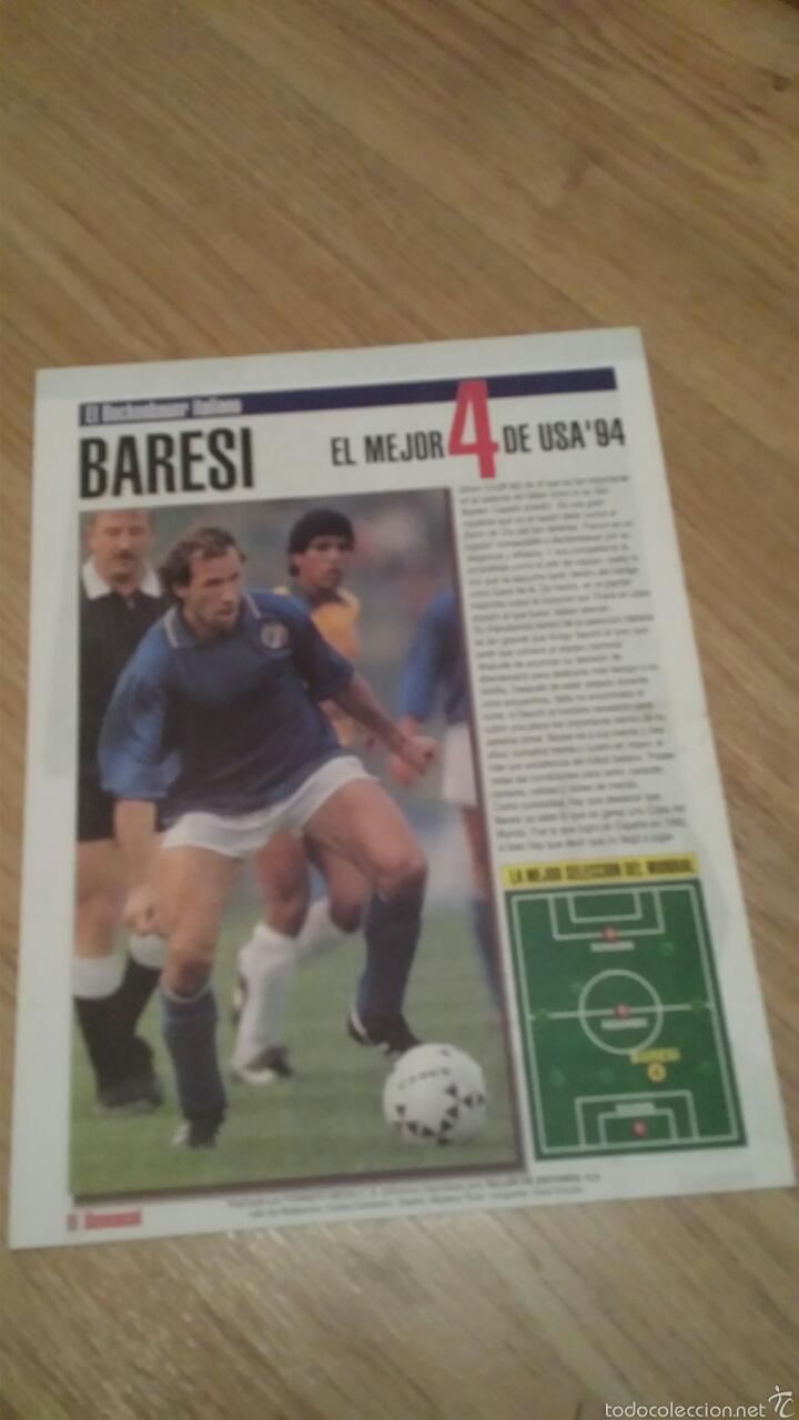 Coleccionismo deportivo: COLECCIONABLE REVISTAS MUNDIAL USA 94 1994 COMPLETO - Foto 10 - 28623001