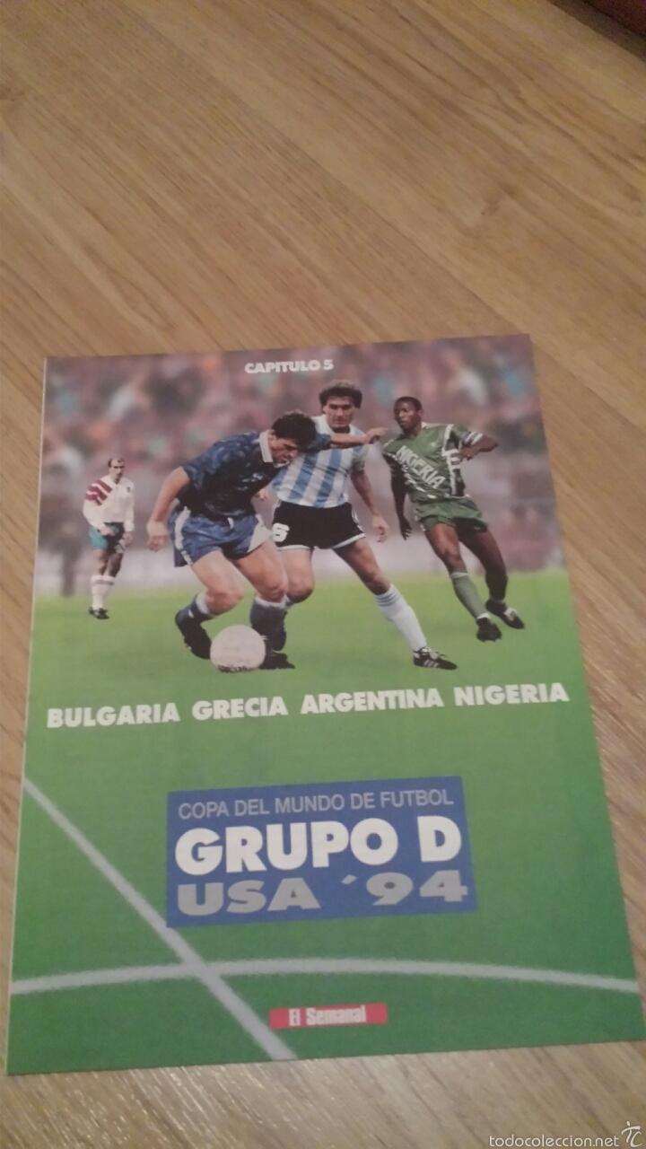 Coleccionismo deportivo: COLECCIONABLE REVISTAS MUNDIAL USA 94 1994 COMPLETO - Foto 11 - 28623001