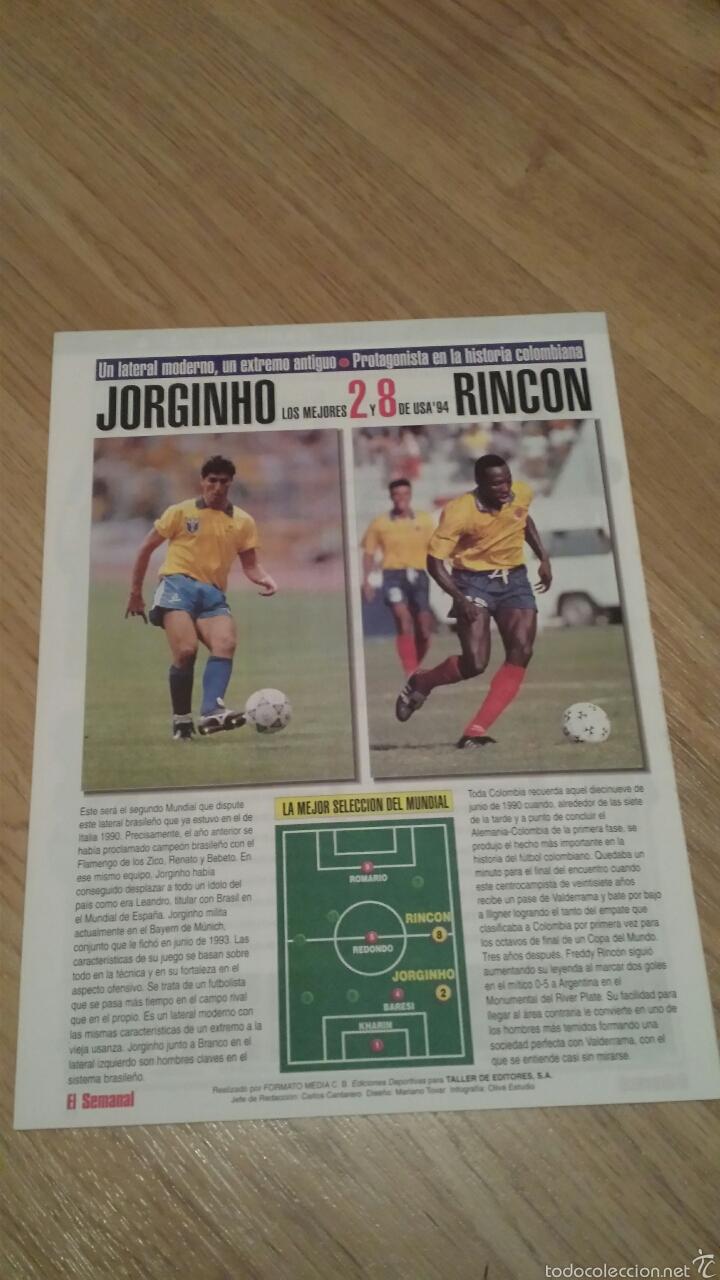 Coleccionismo deportivo: COLECCIONABLE REVISTAS MUNDIAL USA 94 1994 COMPLETO - Foto 12 - 28623001
