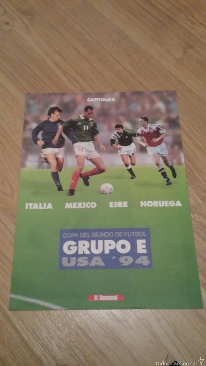 Coleccionismo deportivo: COLECCIONABLE REVISTAS MUNDIAL USA 94 1994 COMPLETO - Foto 13 - 28623001