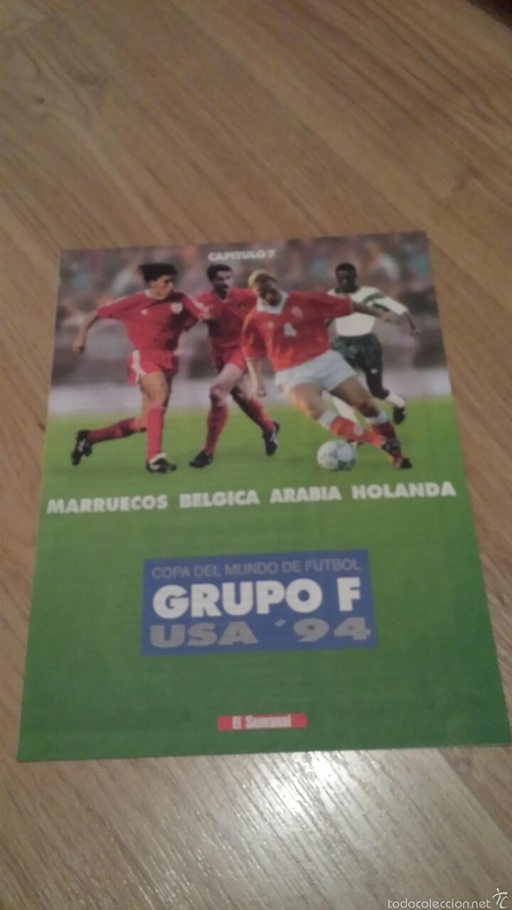 Coleccionismo deportivo: COLECCIONABLE REVISTAS MUNDIAL USA 94 1994 COMPLETO - Foto 15 - 28623001