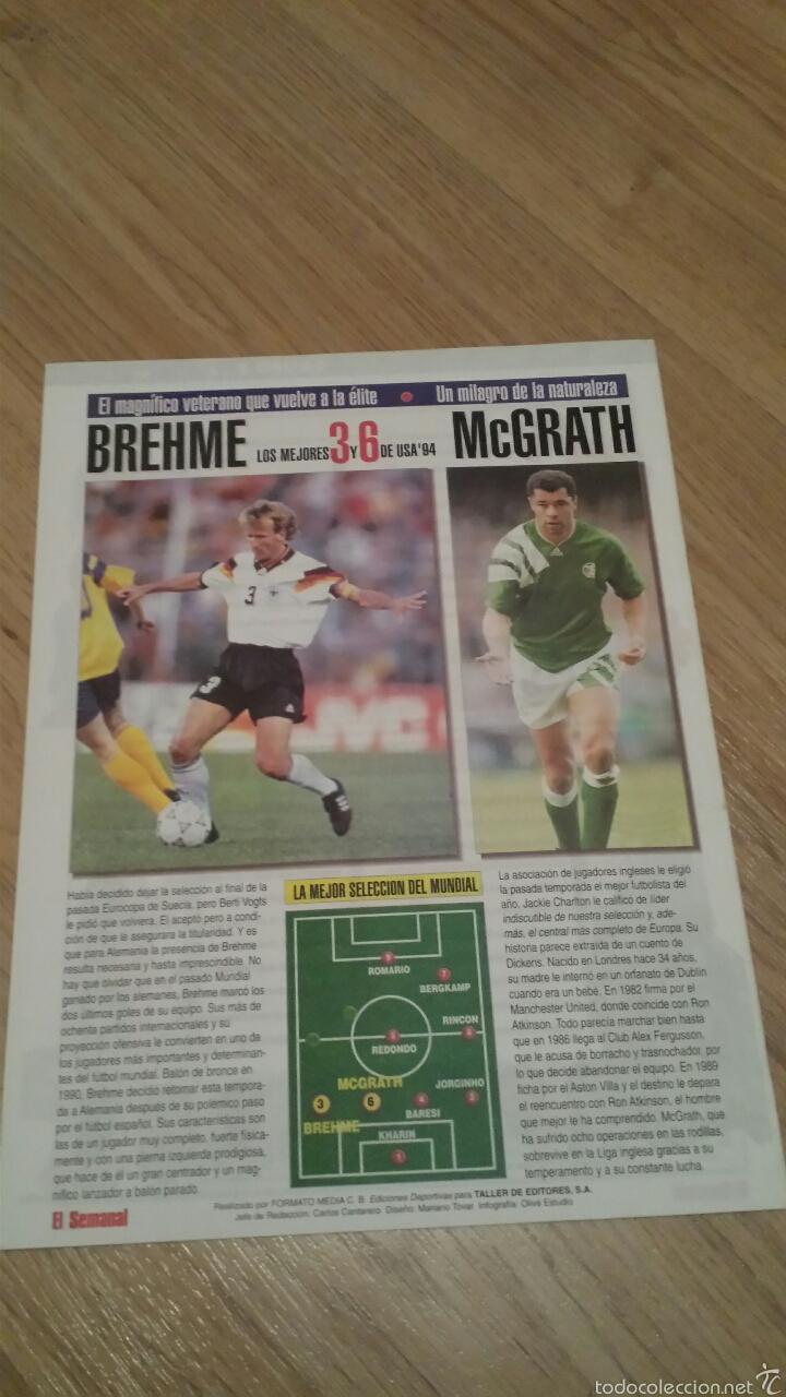 Coleccionismo deportivo: COLECCIONABLE REVISTAS MUNDIAL USA 94 1994 COMPLETO - Foto 16 - 28623001