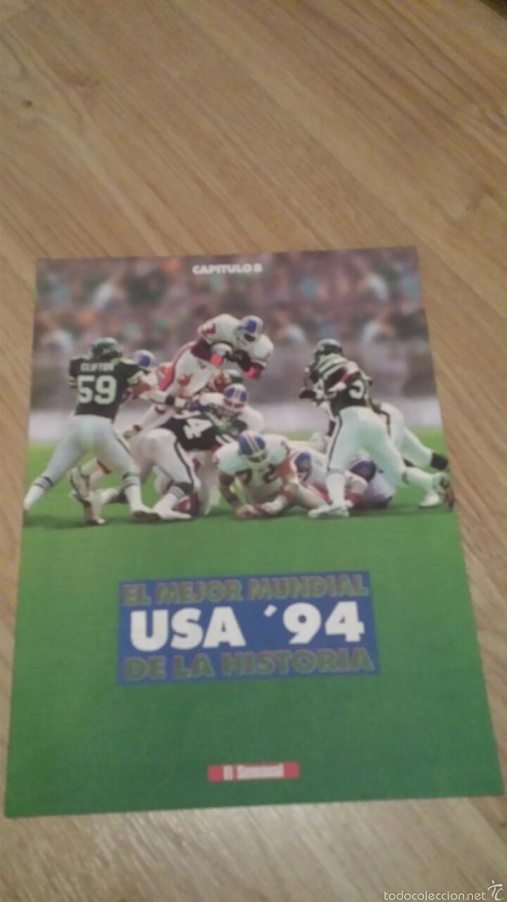 Coleccionismo deportivo: COLECCIONABLE REVISTAS MUNDIAL USA 94 1994 COMPLETO - Foto 17 - 28623001