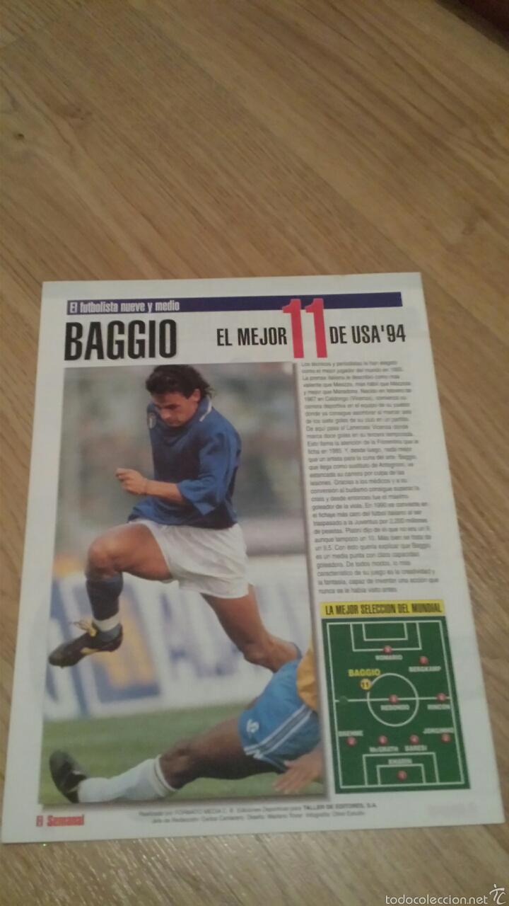 Coleccionismo deportivo: COLECCIONABLE REVISTAS MUNDIAL USA 94 1994 COMPLETO - Foto 18 - 28623001