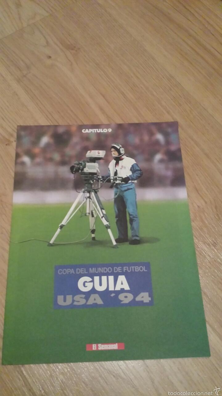 Coleccionismo deportivo: COLECCIONABLE REVISTAS MUNDIAL USA 94 1994 COMPLETO - Foto 19 - 28623001