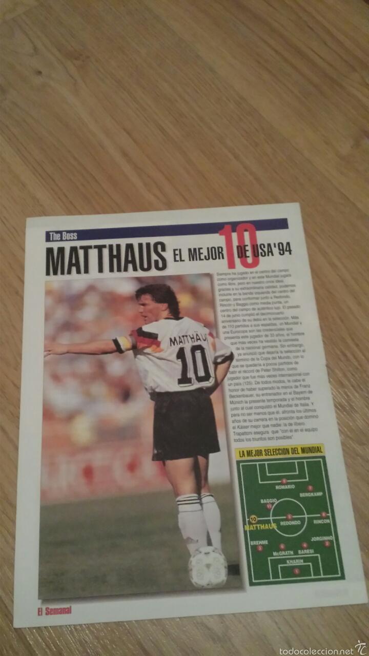 Coleccionismo deportivo: COLECCIONABLE REVISTAS MUNDIAL USA 94 1994 COMPLETO - Foto 20 - 28623001