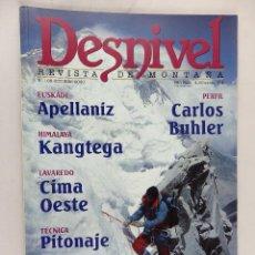 Coleccionismo deportivo: REVISTA DESNIVEL Nº 166 OCTUBRE 2000. Lote 54506722