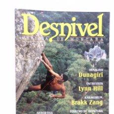Coleccionismo deportivo: REVISTA DESNIVEL 144 OCTUBRE 1997. Lote 54507216
