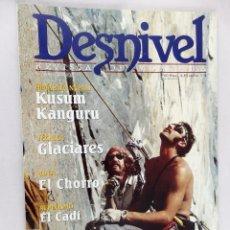 Coleccionismo deportivo: REVISTA DE MONTAÑA DESNIVEL Nº 160 MARZO 2000. Lote 54508155