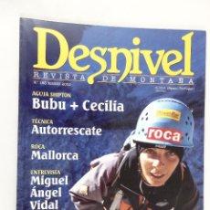 Coleccionismo deportivo: REVISTA DESNIVEL Nº 183 MARZO 2002. Lote 54508270