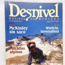 Coleccionismo deportivo: REVISTA DE MONTAÑA DESNIVEL Nº 182 FEBRERO 2002. Lote 54508352