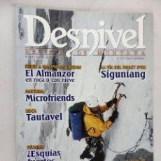 Coleccionismo deportivo: REVISTA DESNIVEL Nº 197 ABRIL 2002. Lote 54510383
