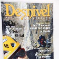 Coleccionismo deportivo: REVISTA DESNIVEL Nº 258 ENERO 2008. Lote 54510566