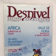 Coleccionismo deportivo: REVISTA DESNIVEL Nº 79 DICIEMBRE 1992. Lote 54510699
