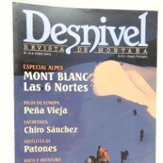 Coleccionismo deportivo: REVISTA DESNIVEL Nº 212 JUNIO 2004. Lote 54510831