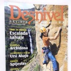 Coleccionismo deportivo: REVISTA DESNIVEL Nº 243 NOVIEMBRE 2006. Lote 54510866