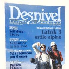 Coleccionismo deportivo: REVISTA DESNIVEL Nº 247 FEBRERO 2007. Lote 54511332