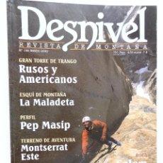 Coleccionismo deportivo: REVISTA DESNIVEL Nº 158 ENERO 2000. Lote 54511527