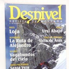 Coleccionismo deportivo: REVISTA DESNIVEL Nº 157 DICIEMBRE 1999. Lote 54511537