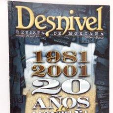 Coleccionismo deportivo: REVISTA DESNIVEL Nº 173 MAYO 2001. Lote 54511560