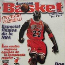 Coleccionismo deportivo: MICHAEL JORDAN - REVISTA ''AMERICAN BASKET'' - NÚMERO 1 (1997) - NBA. Lote 54527106
