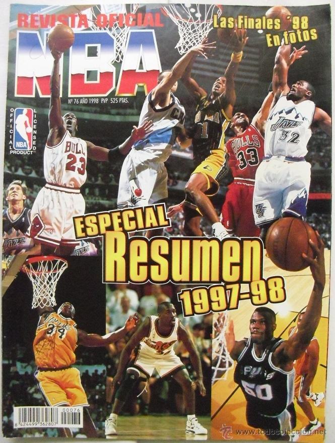 010bb27248b michael jordan -   revista oficial nba   - resu - Comprar Revistas y ...