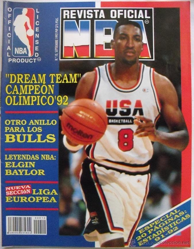 b74427b8230 Michael jordan -   revista oficial nba   - drea - Sold through ...