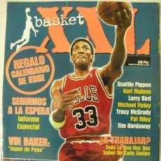 Coleccionismo deportivo: MICHAEL JORDAN & KOBE BRYANT - REVISTA ''XXL BASKET'' Nº 41 (1998) - SCOTTIE PIPPEN - NBA. Lote 54622528
