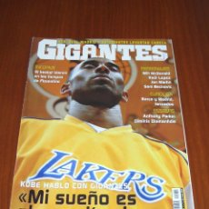 Coleccionismo deportivo: GIGANTES DEL BASKET Nº 1062 - EN PORTADA KOBE BRYANT. Lote 54669857